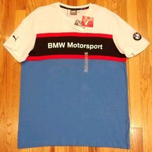 PUMA BMW MOTORSPORT COLLECTION BMW LOGO T-SHIRT